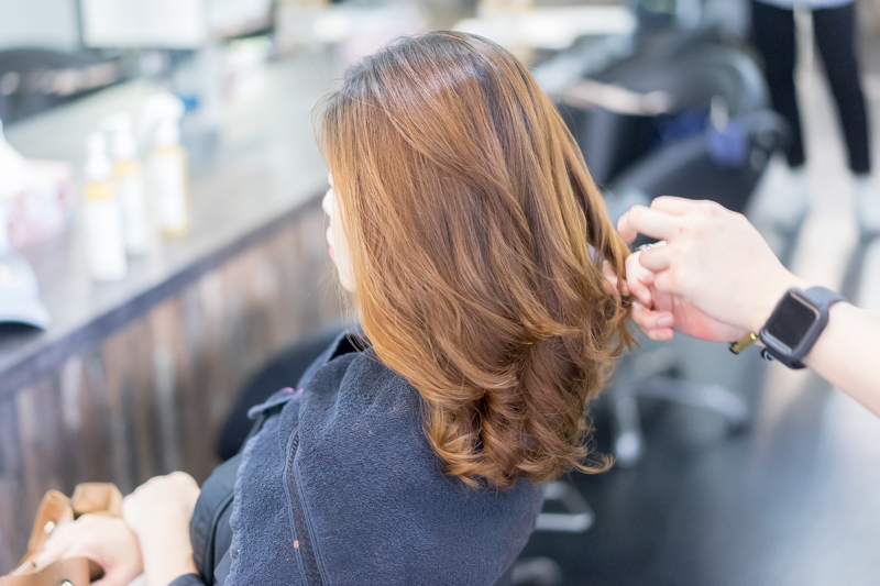 Styling at Focus Hairdressing