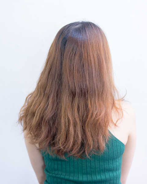 Frizzy Damage Hair Before Perm at Focus Hairdressing