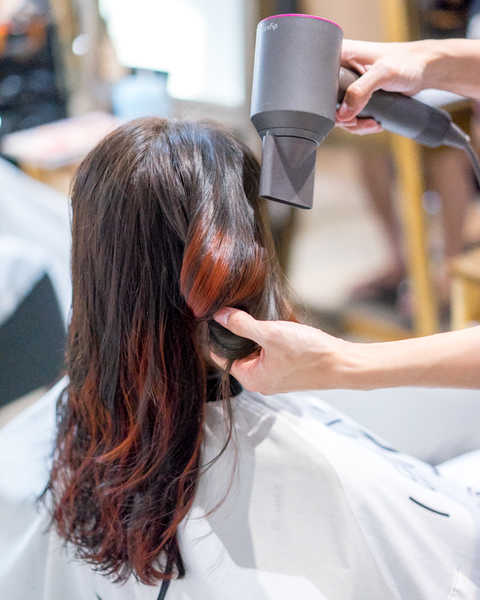 Getting Red Highlights at No. 8 Hair Studio