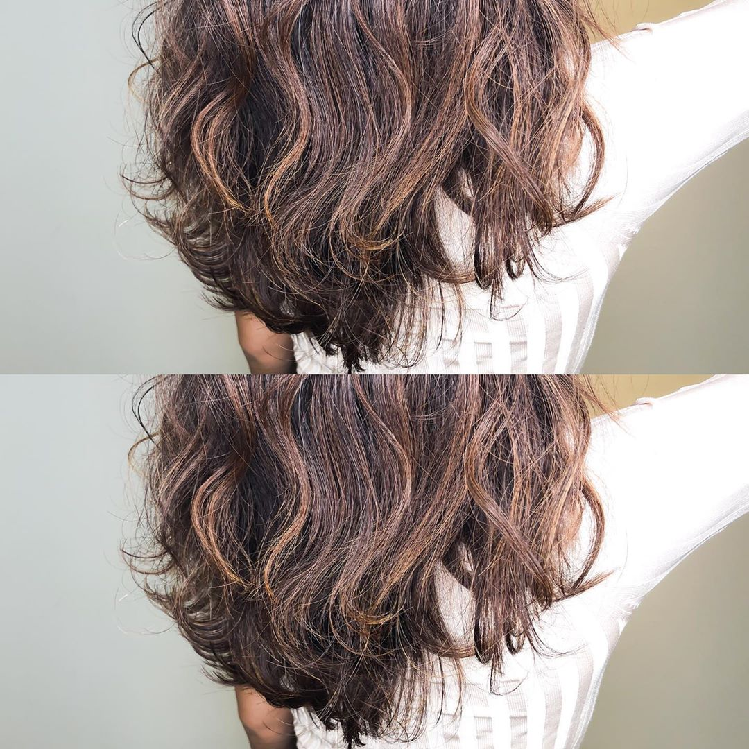Brown Balayage by The Threes