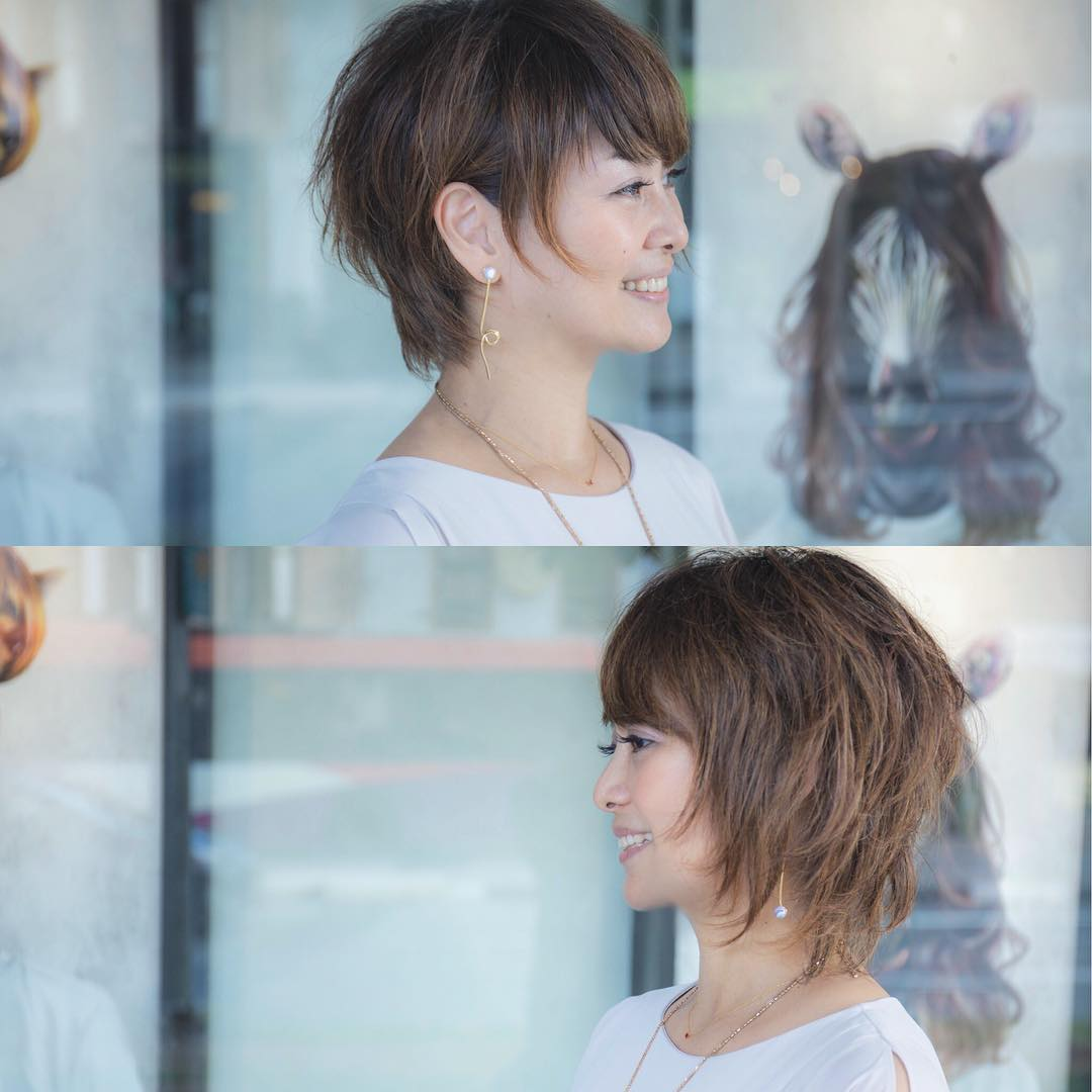 Japanese-style Tapered Bob by SAD Hair Design