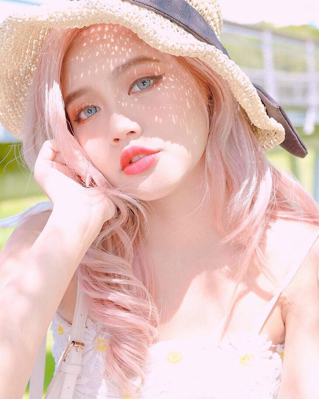 Pastel Pink Hair Colour by Walking on Sunshine