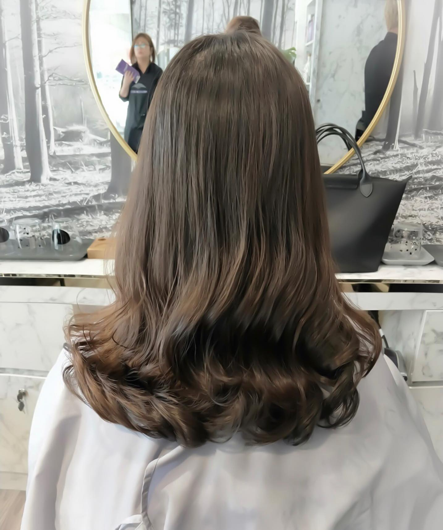 Natural Perm at Color Bar by Fullhouse Tampines