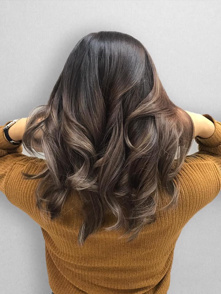 Stylish Coffee Coloured Hair by Chez Vous
