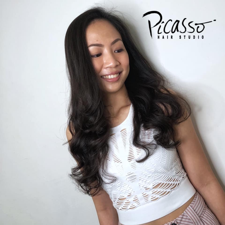 Low Maintenance Rebonding Perm for Busy Women by Picasso Hair Studio
