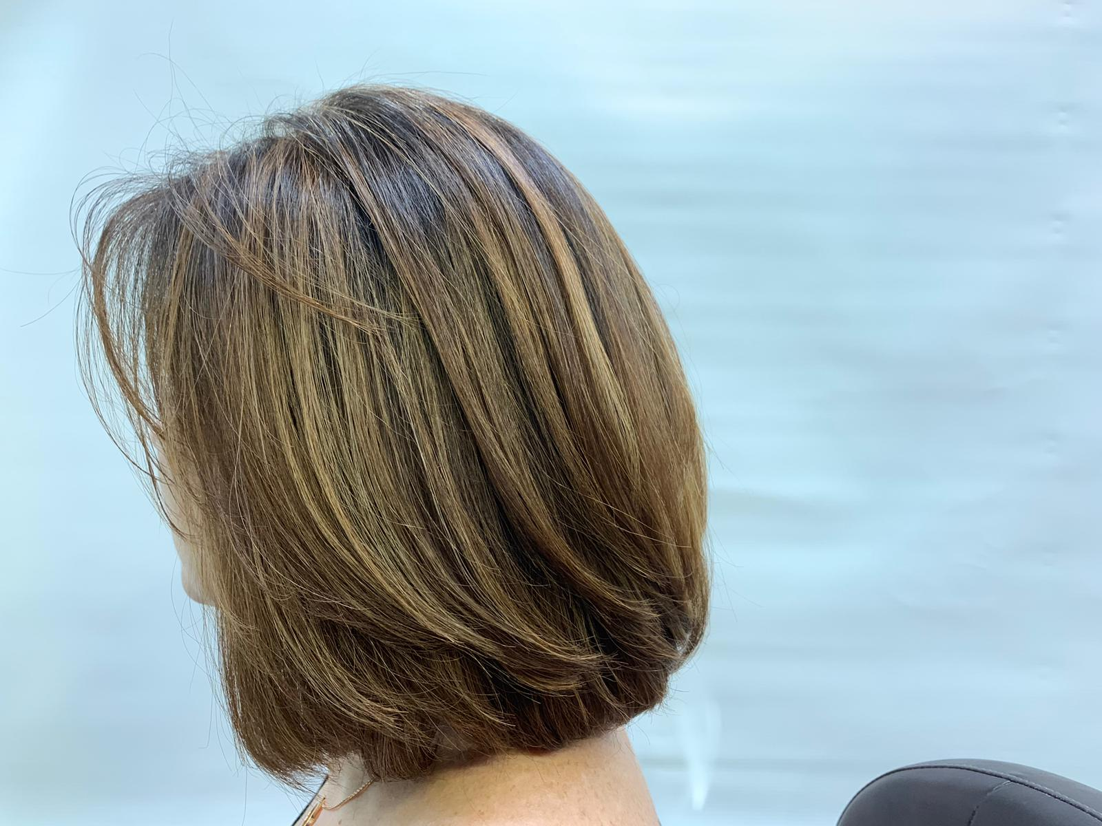 Keratin Treatment Removes Frizz Without Straightening Hair