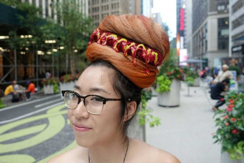 Food Inspired Hairstyle in Singapore