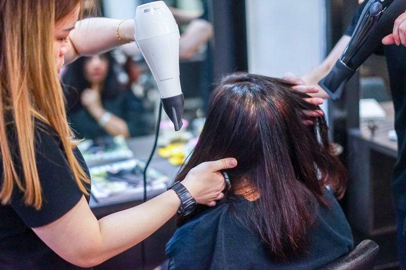 Blow Dry and Styling at Focus Hairdressing