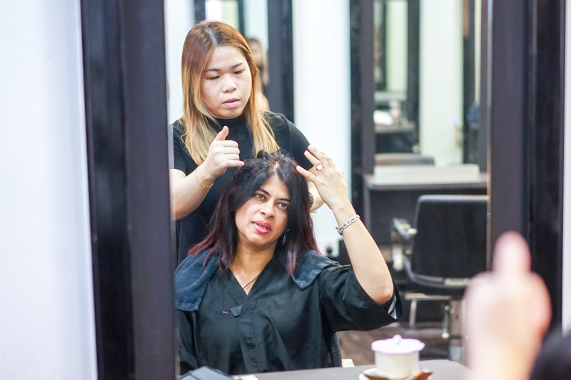 Hair Consultation at Focus Hairdressing