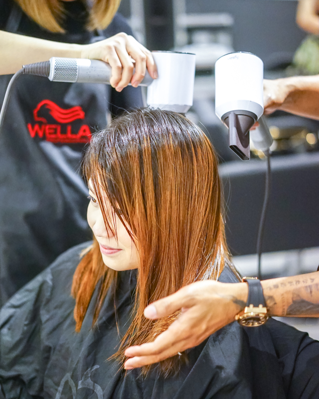 Blow Dry and Styling at Be Salon