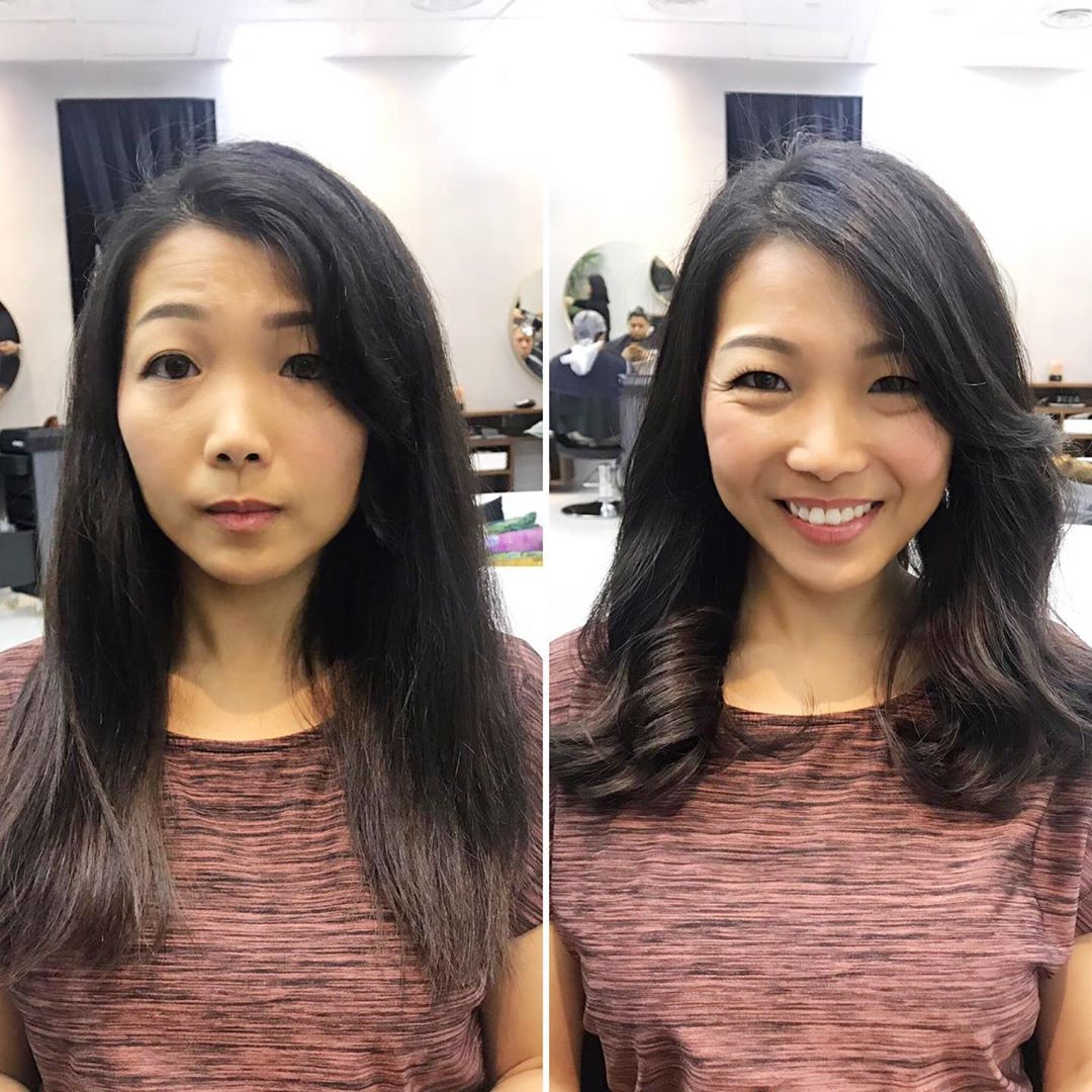 Before and After Perm by Chez Vous