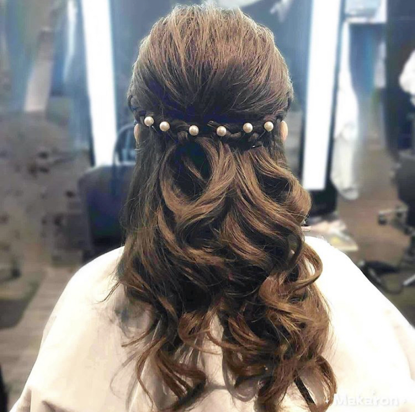 Glamorous Styling for Events at Kenaris Salon