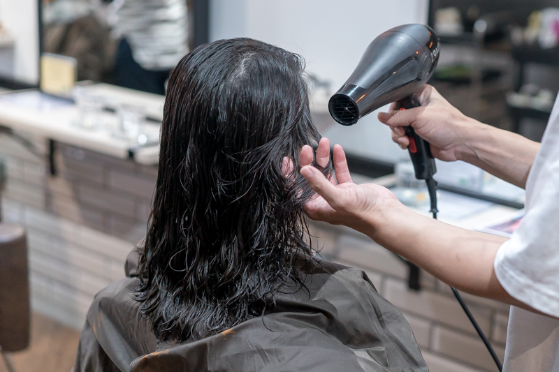 Blow Dry at Bump by AVENTA