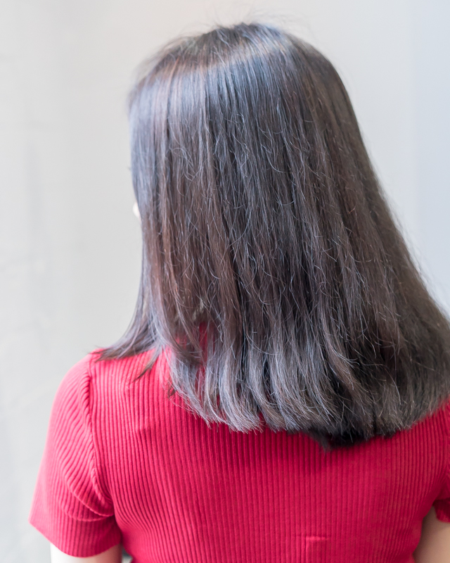 My Hair Before Care Perm at Bump by AVENTA