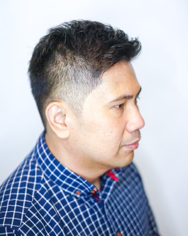 Clean and Professional Look After Men's Haircut at Do My Hair
