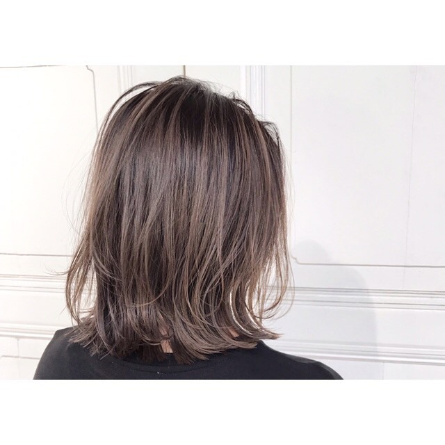 Brown Hair Colour for Work at Bump by AVENTA