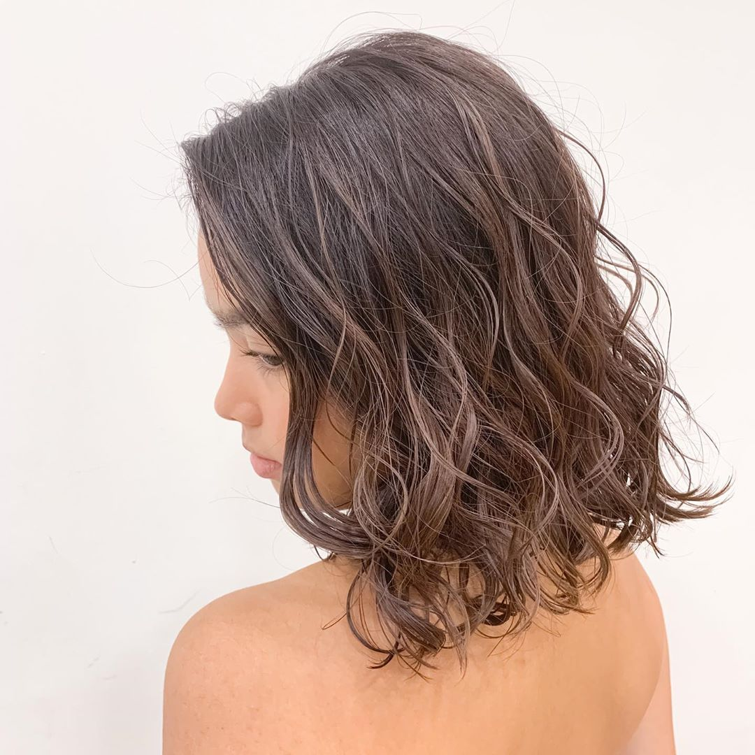 Office Friendly Blonde Highlights by Threes Japanese Hair Salon