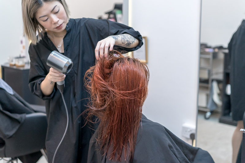 Blow Dry and Styling at Mane Made