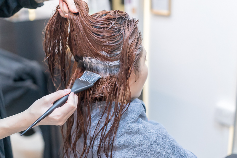 Copper Hair Colouring at Mane Made