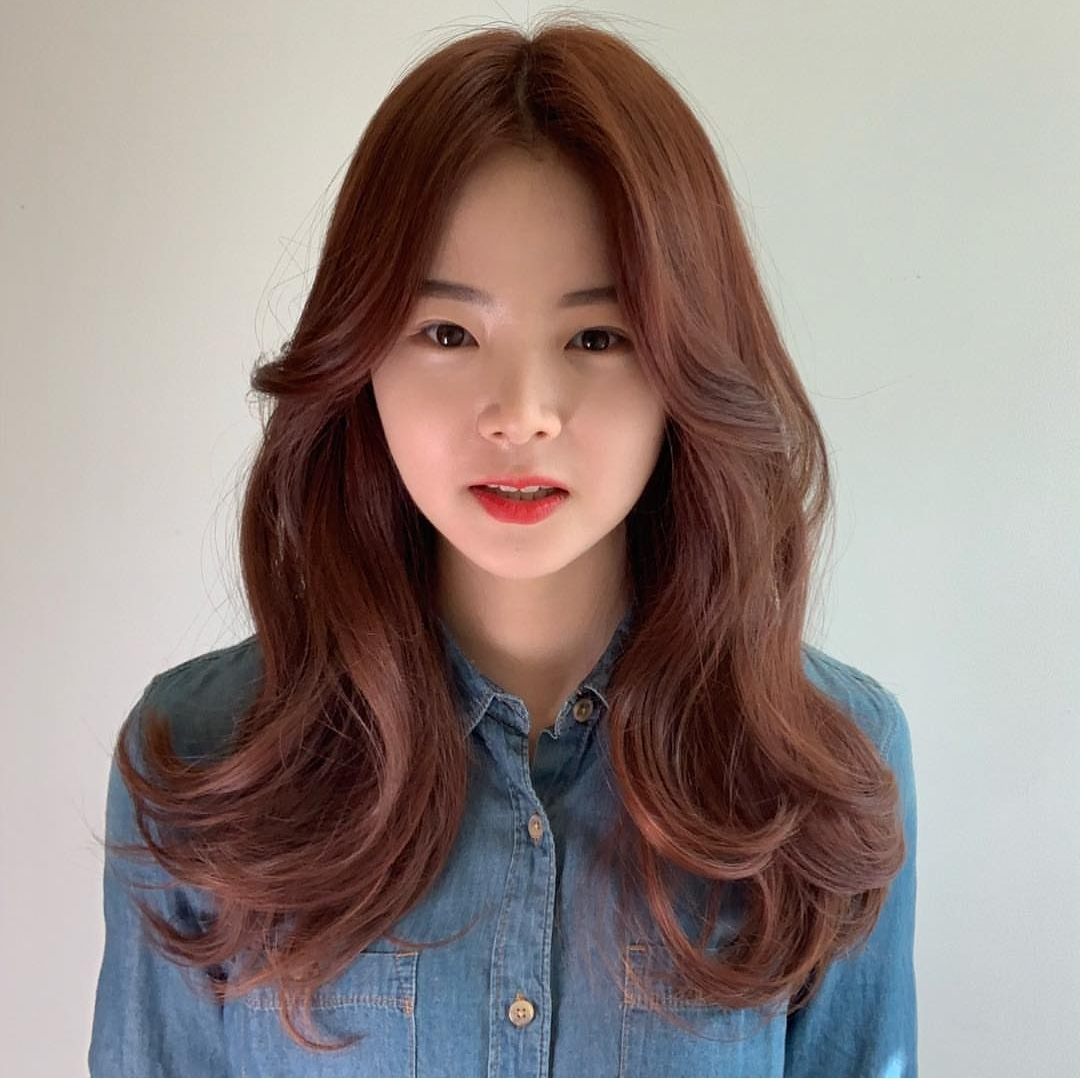 Reddish Brown Hair Colour Suitable for Work at Pro Trim