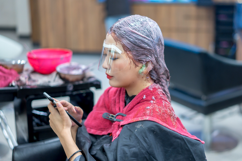 Hair Dyeing at Style NA