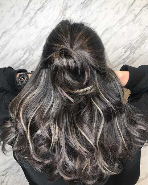 Chunky Blonde Highlights by The Urban Aesthetics
