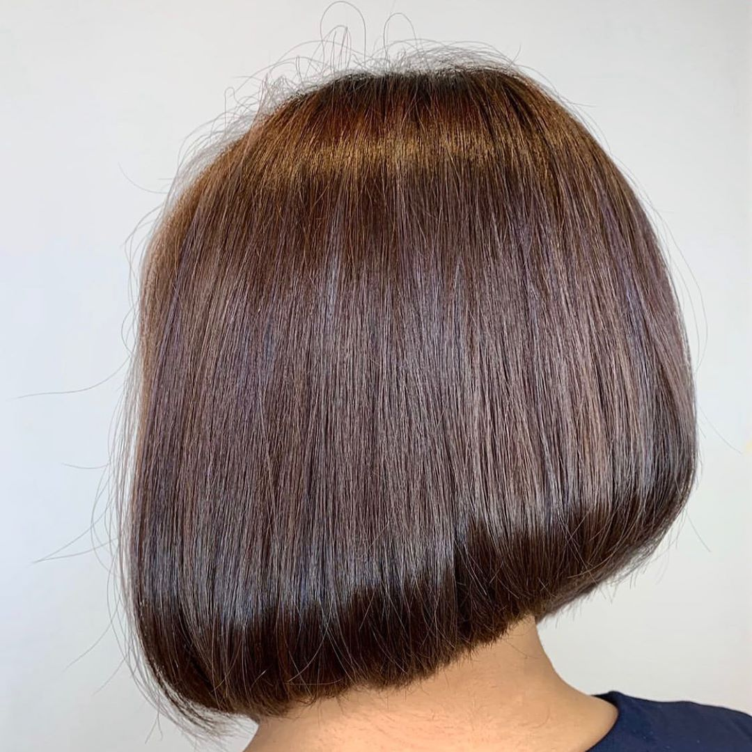 Short Brown Hair Colour for Office Ladies at Do My Hair
