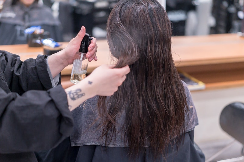 Korean Getting First Perm in Singapore at Pro Trim