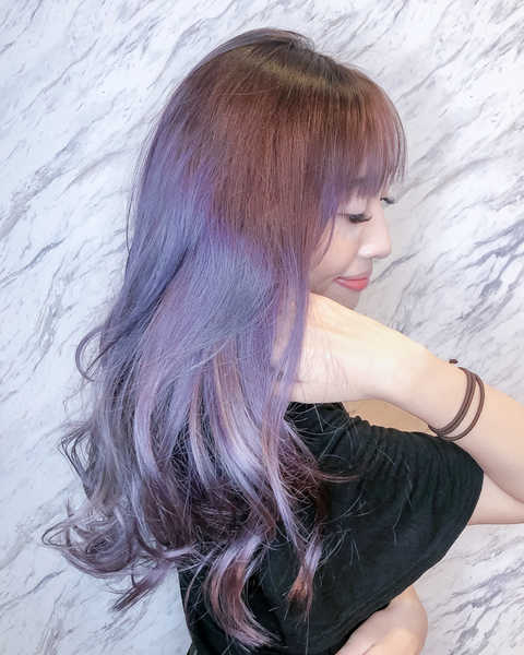 How I look after getting an ash purple hair colour at The Beauty Emporium by The Urban Aesthetics