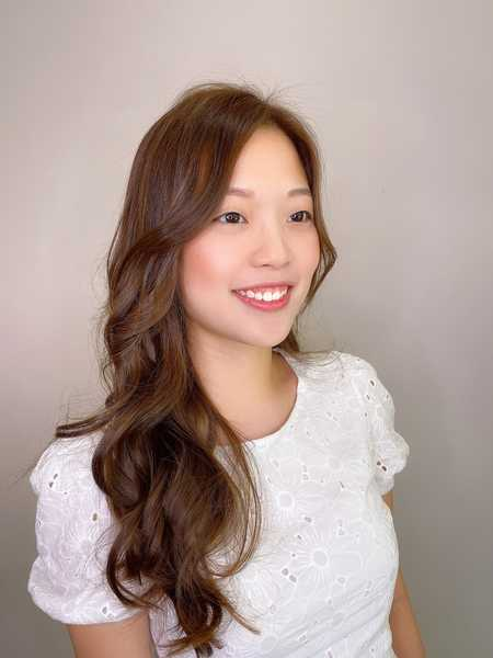 How I Look After Getting Natural Brown Hair Colour for My Wedding at COVO Japanese Hair Salon
