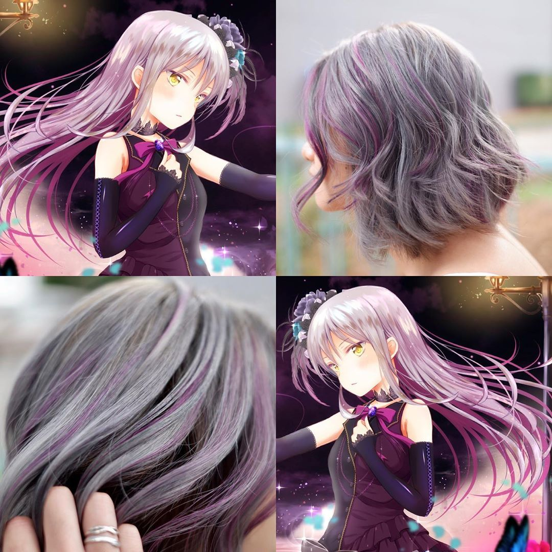 Ash Purple Hair Colour by Finder by COVO