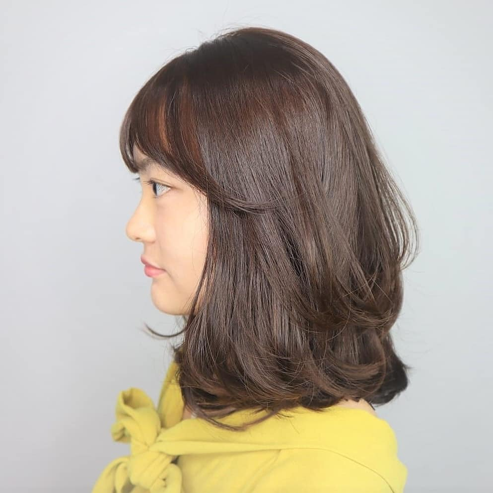 Layered C Curl Perm by Style NA