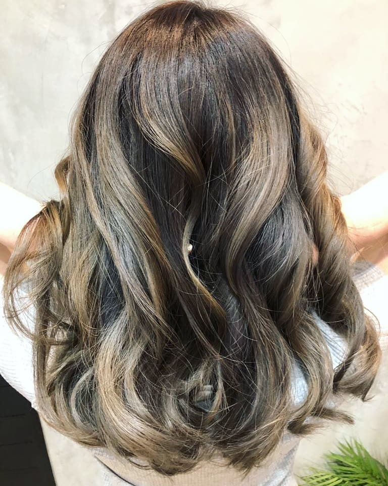Brown Balayage by Keith From Bump
