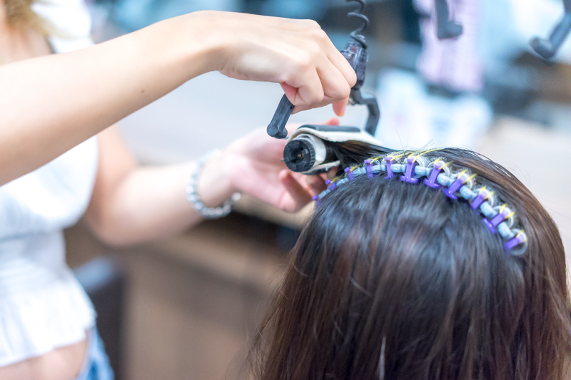 Curling Process of Digiperm at Style NA