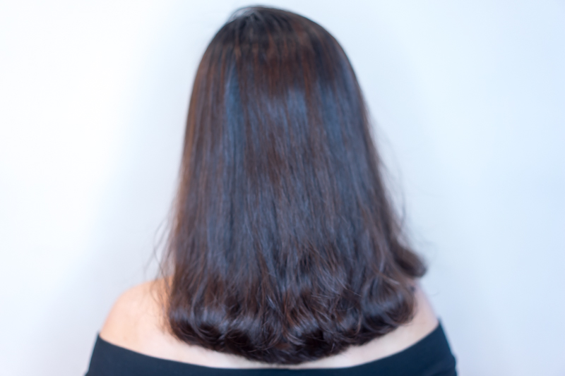 My Hair Before Digital Perm by Style NA