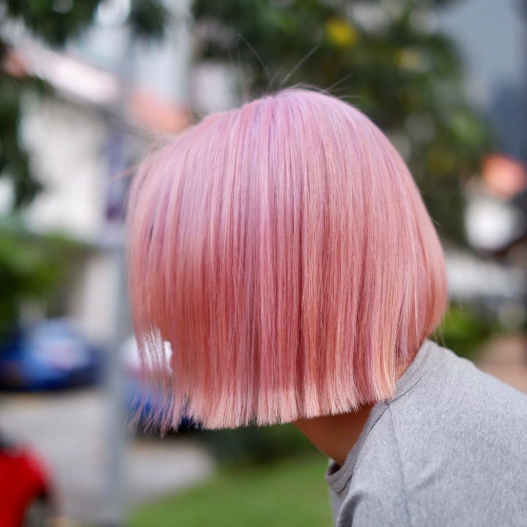 Pastel Pink Hair Colour (Hajime) at Finder by COVO