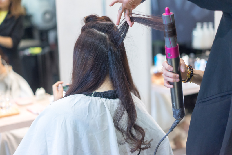 Hair Dry and Styling with Dyson at No. 8 Hair Studio