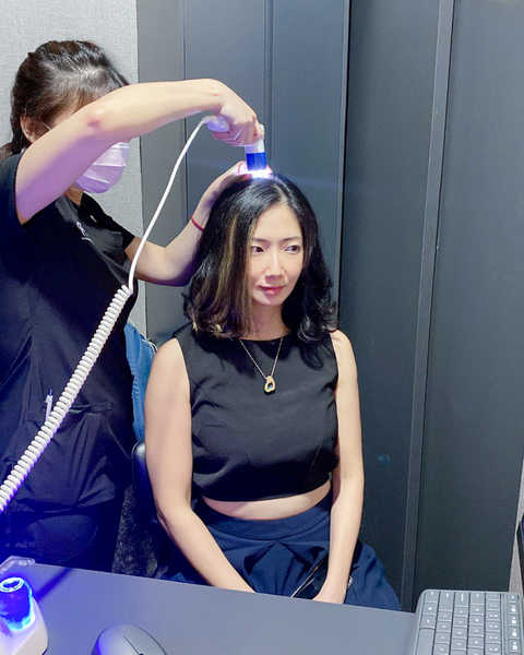 Cleaner Scalp on Final Scalp Analysis at Papilla Haircare