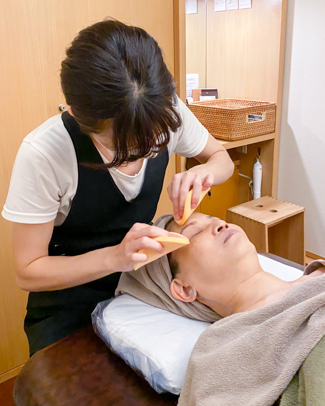 Facial Cleansing at Allumer Japanese Beauty Salon