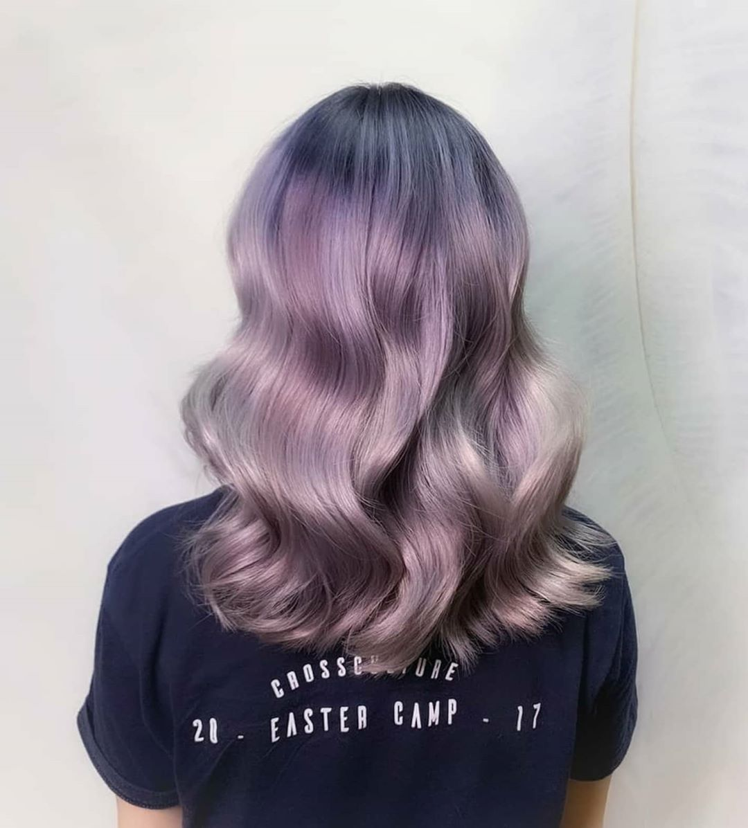 Purple Hair Colour by Samantha From Full House