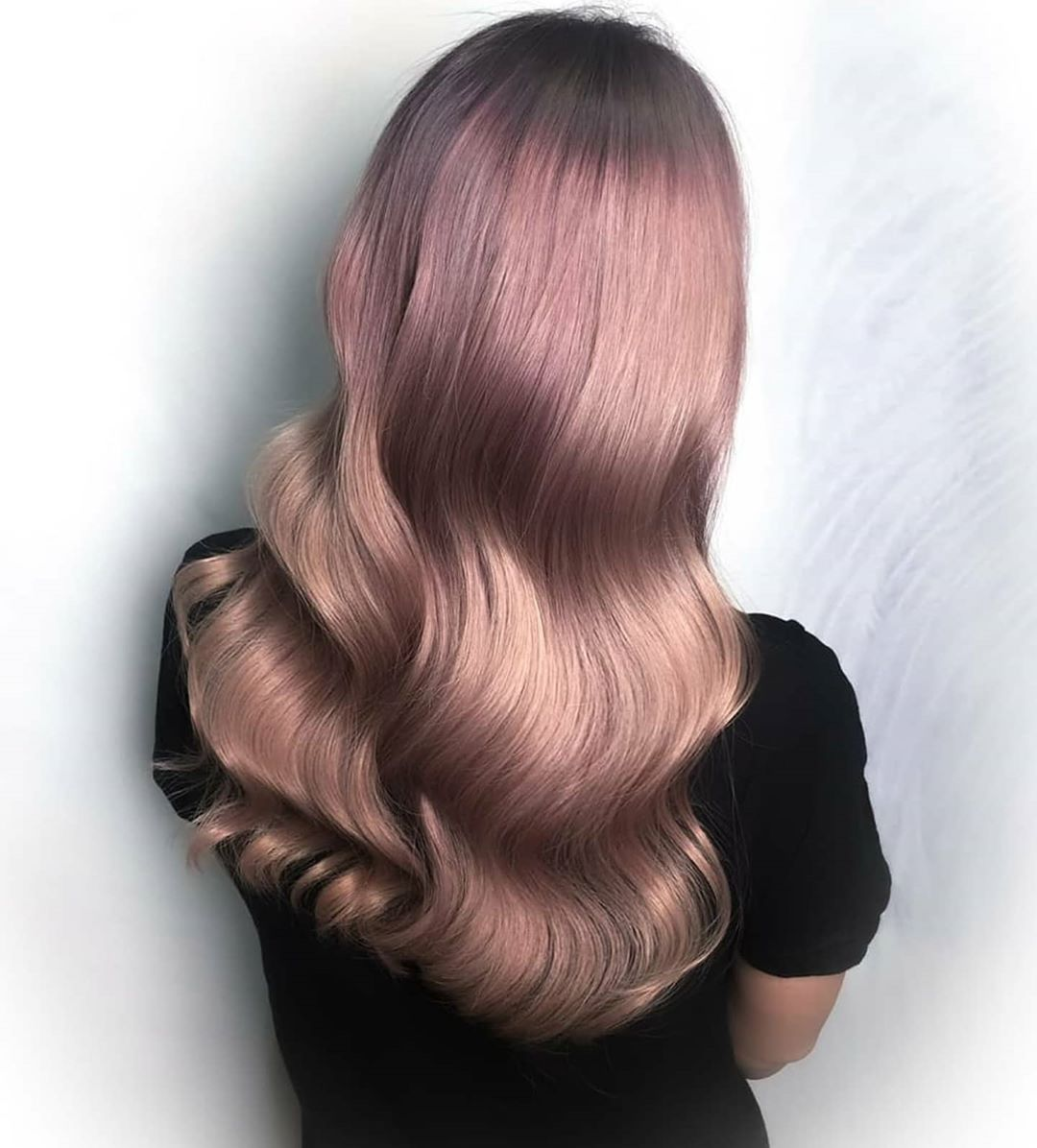 Rose Gold Hair Colour by Samantha From Full House
