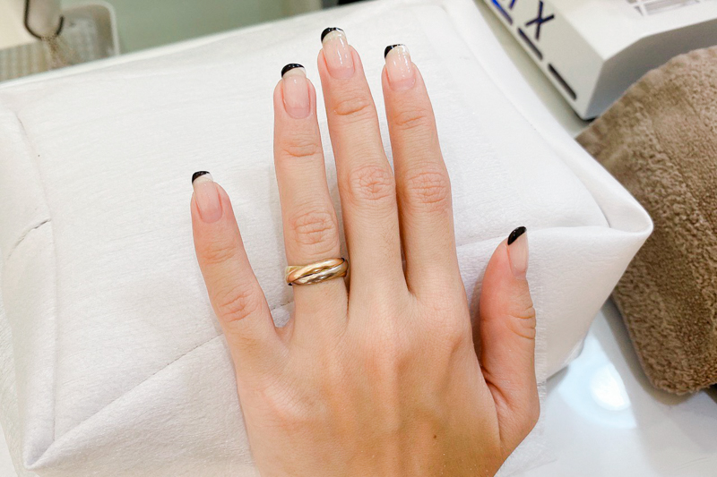 Before Manicure