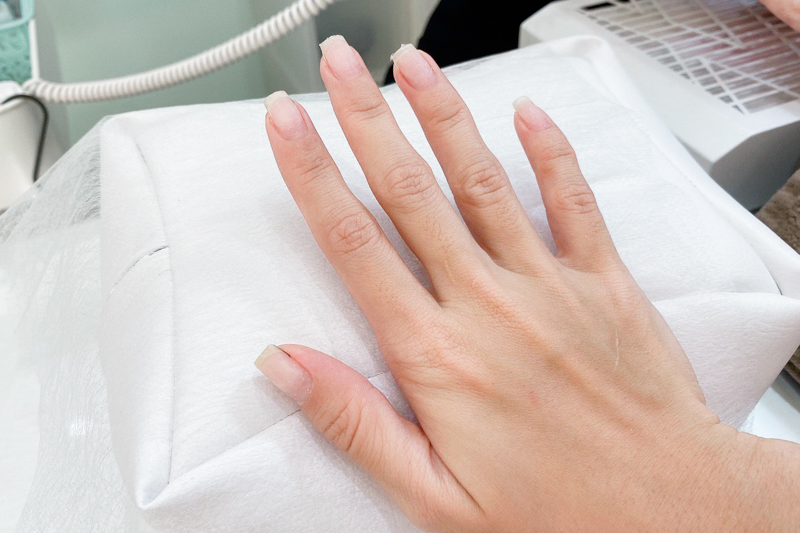 Fill In Method Japanese Gelish Nails