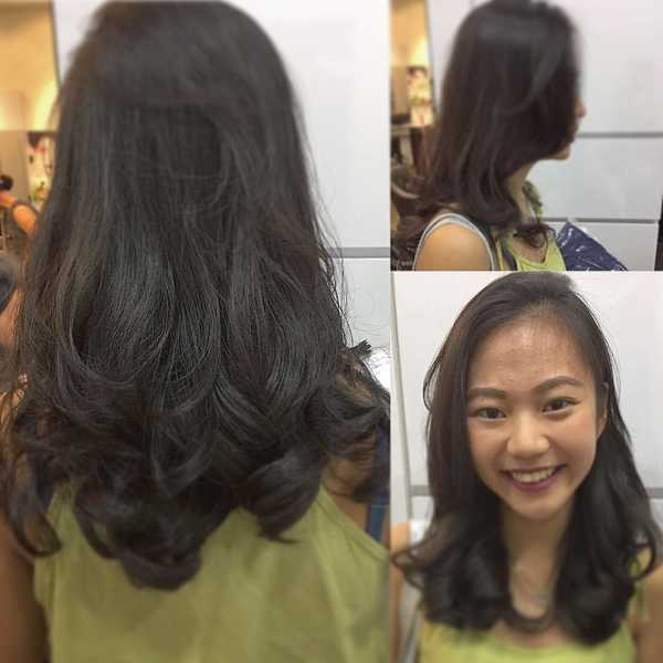 Singapore Perm by Bro from Act Point Salon