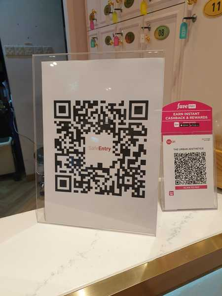 QR Code Safe Entry to Salons During COVID-19 Phase 2