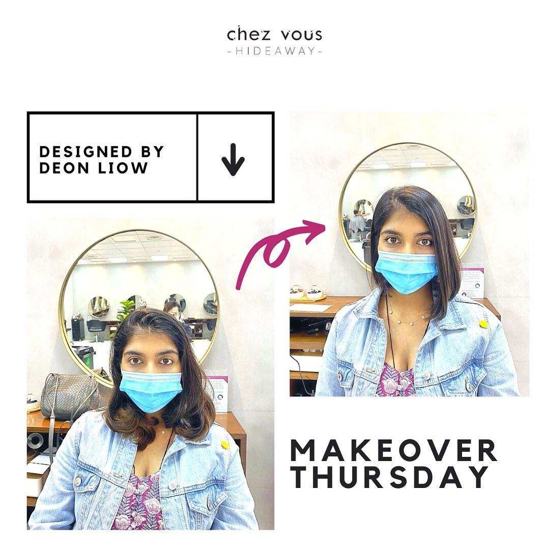 Haircut and Rebonding (Deon) by Chez Vous Hideaway