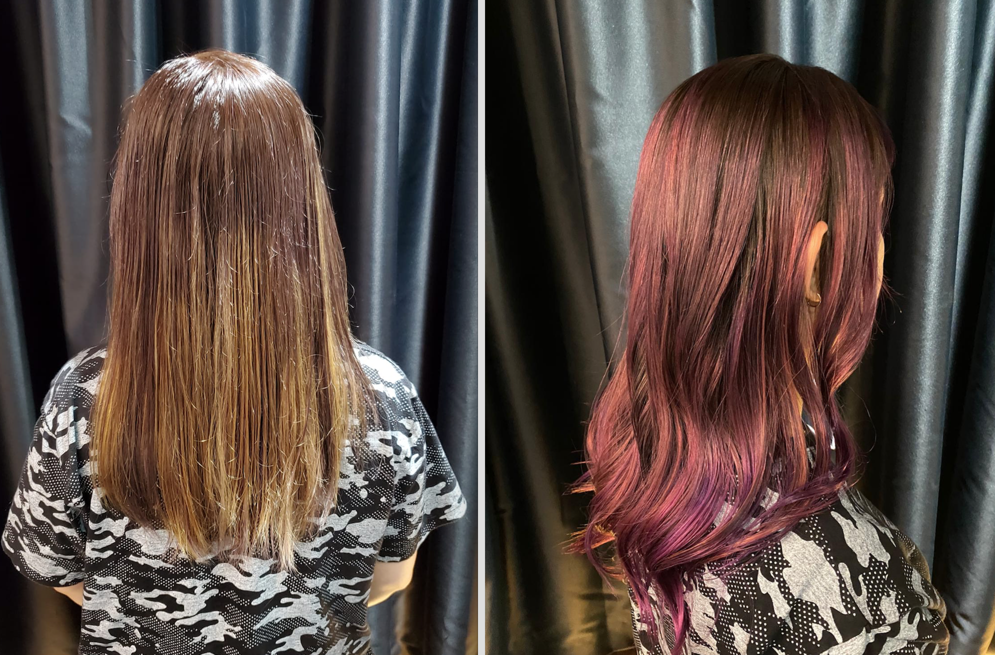 Red Hair Colour at Color Bar by Full House Salon