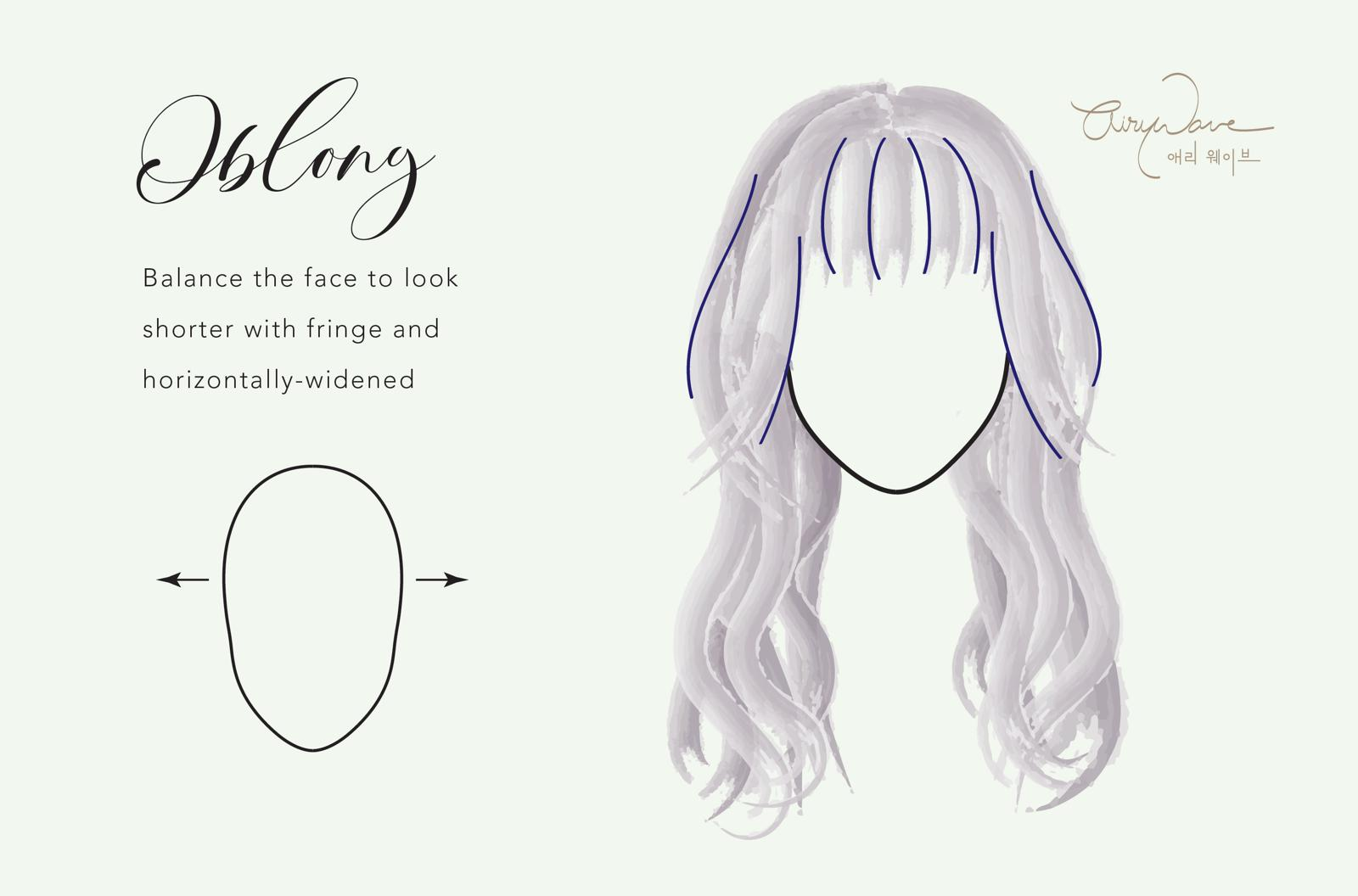 Perm Style for Oblong Face