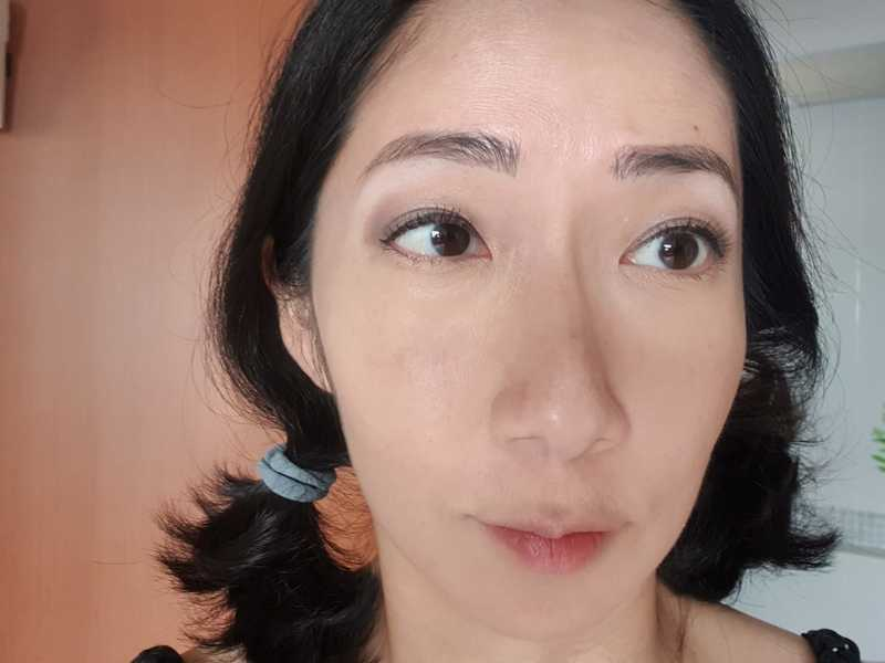 After Lash Lift at Allongee