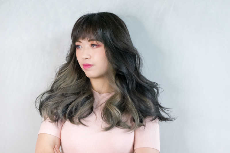 Two-Toned Dark Blonde by No. 8 Hair Studio